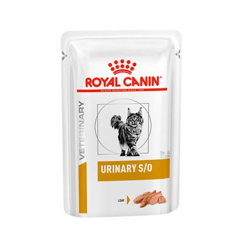 Ração Royal Canin Sachê para Gatos Veterinary Urinary S/O Feline Wet - 85g