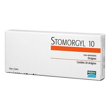 Stomorgyl 10 Antibiótico Merial para Cães e Gatos