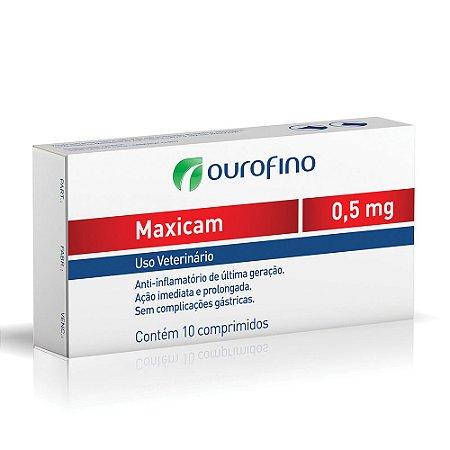 Maxicam Ourofino 0,5mg 10 Comprimidos
