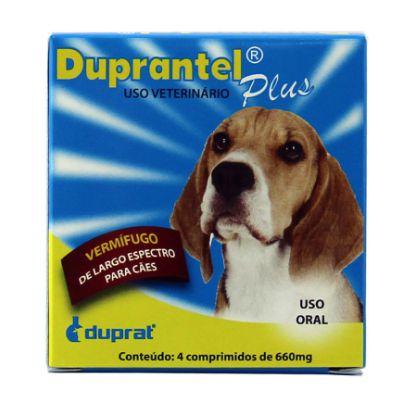 DUPRANTEL PLUS CÃES DUPRAT C/ 4 COMPRIMIDOS