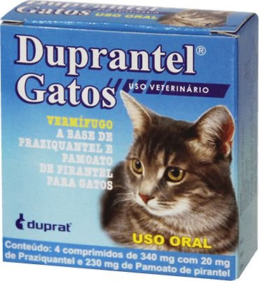 DUPRANTEL PLUS GATOS DUPRAT C/ 4 COMPRIMIDOS