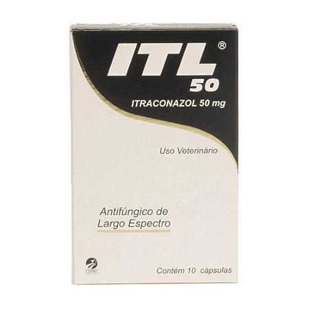 ITL Cepav 50mg 10 Cápsulas
