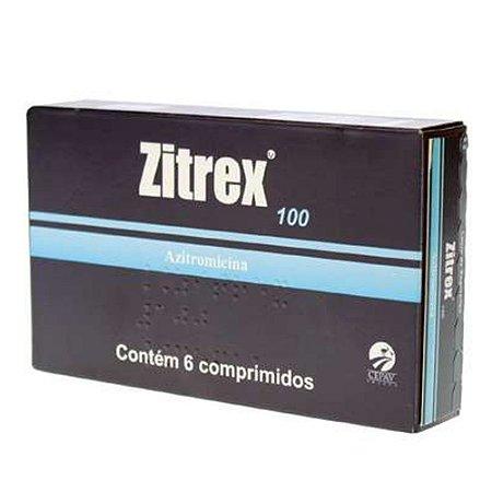 Zitrex 100mg Cepav 6 Unidades