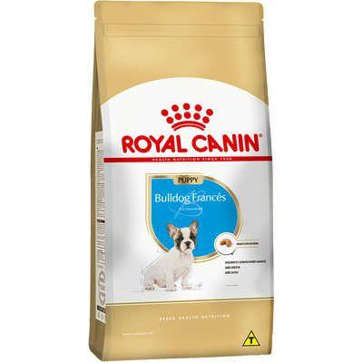 Ração Royal Canin Bulldog Francês - Cães Filhotes