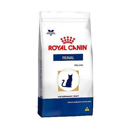 Ração Royal Canin Feline Veterinary Diet Renal para Gatos com Doenças Renais