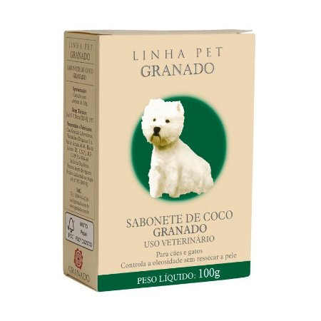 Sabonete Granado Coco para Cães e Gatos 100g