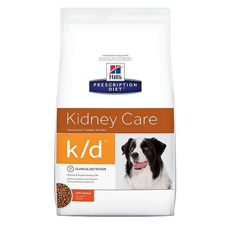 Ração Hill's Prescription Diet K/D Cuidado Renal Para Cães Adultos Com Doença Renal