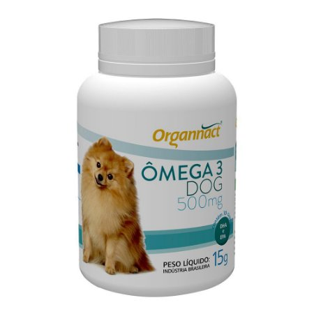 Omega Dog 500mg Organnact