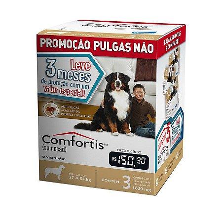 Combo Antipulgas Comfortis Elanco para Cães 27 a 54Kg