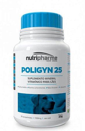 Poligyn 25 Suplemento Mineral Vitamínico Nutripharme para Cães