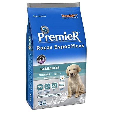 Ração Premier Raças Específicas Labrador para Cães Filhotes - 12kg