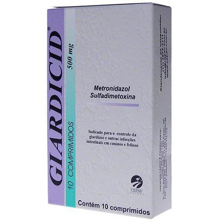 Giardicid Cepav 500mg