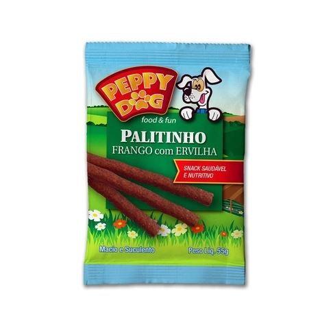 Palitinho Frango com Ervilha Peppy Dog 55g