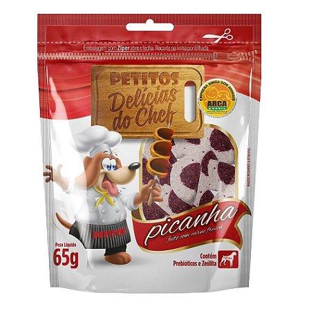 Snack Petitos Para Cães Chef Sabor Picanha