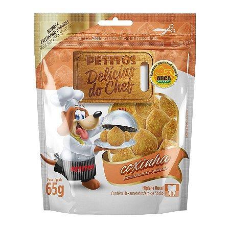 Snack Petitos Para Cães Chef Sabor Coxinha