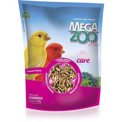 Ração Mix para Canários Megazoo - 350 g
