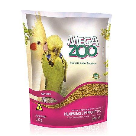 Ração Megazoo para Calopsitas e Periquitos - 500g