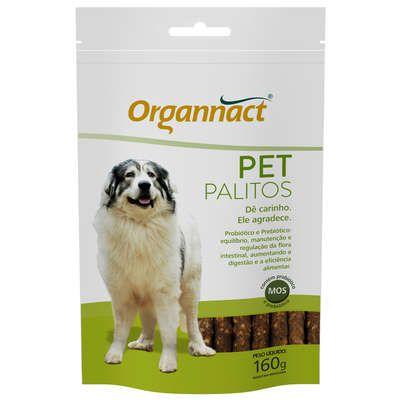 Suplemento Organnact Para Cães Petpalitos Sachê 160g