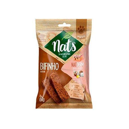 Snack Nats para Cães Natderm - 60g