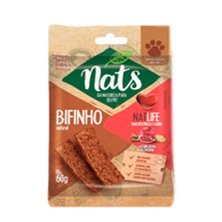 Snack Nats para Cães NatLife - 60g
