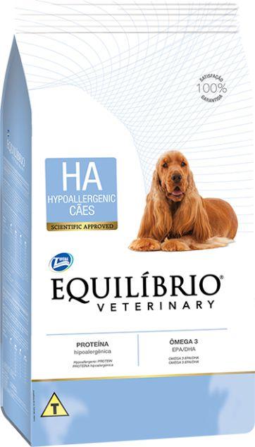 Ração Equilíbrio Veterinary Hypoallergenic para Cães Adultos