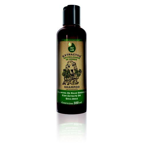 Petlab Extractos Shampoo Neutralizador de Odores Cães 300ml