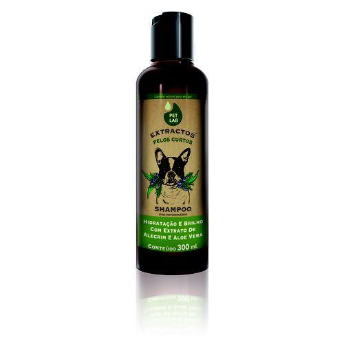 Petlab Extractos Shampoo Cães Com Pelos Curtos 300ml