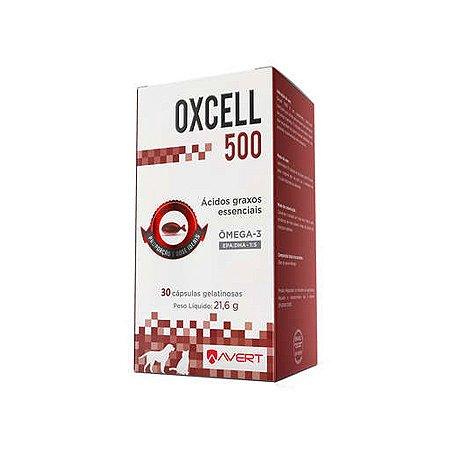 Suplemento Oxcell para Cães e Gatos Avert 30 Cápsulas