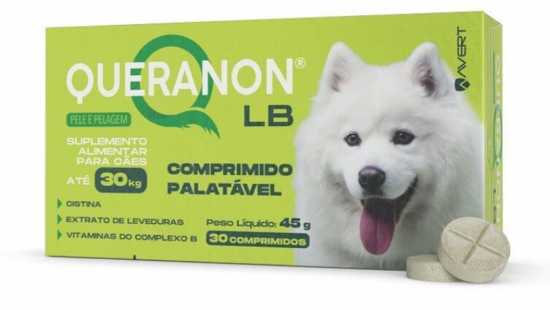 Suplemento Avert Queranon LB para Cães - 30 Kg