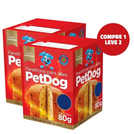 Combo Panettone para Cães Pet Dog