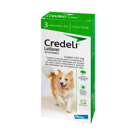 Antipulgas Credeli Elanco para Cães 11 a 22kg