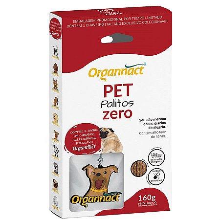 Palitos Organnact Pet Zero - 160g