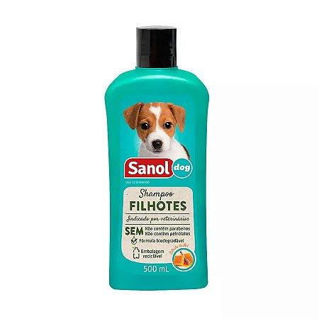 Shampoo Sanol Dog para Cães Filhotes - 500ml