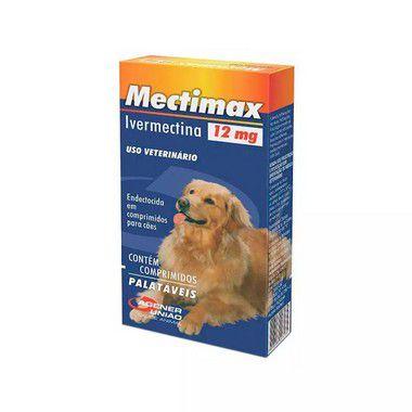 Mectimax Agener União 12mg - Cartela com 4 comprimidos