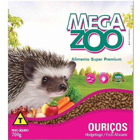 Ração MegaZoo - Extrusada Ouriços/Hedgehogs 700g