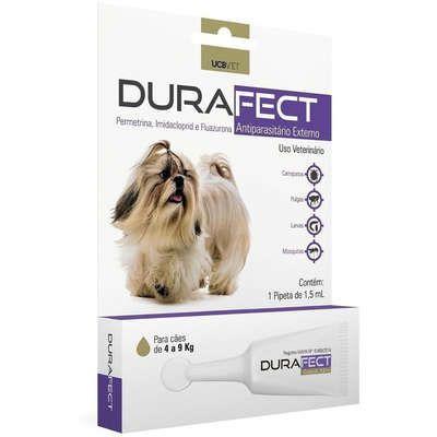 Antipulgas UCBVET Durafect para Cães de 4 a 9 Kg