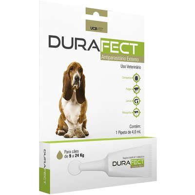 Antipulgas UCBVET Durafect para Cães até 9 a 24 Kg