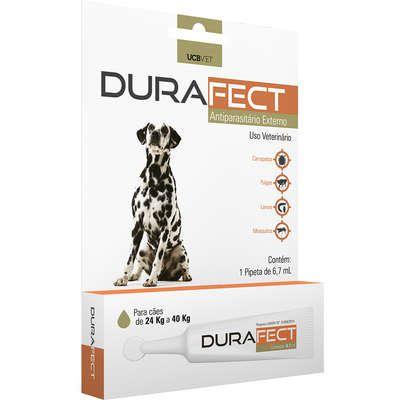 Antipulgas UCBVET Durafect para Cães até 24 a 40 Kg
