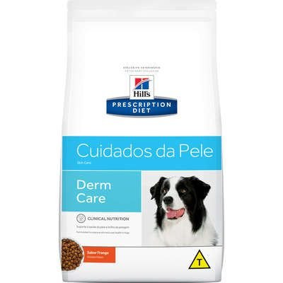 Ração Hill's Prescription Diet Cuidados com a Pele para Cães Adultos