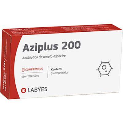 Aziplus 200 Labyes para Cães e Gatos - 3 comprimidos