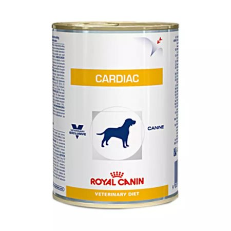Ração Royal Canin Lata Canine Cardiac Wet - 410 g