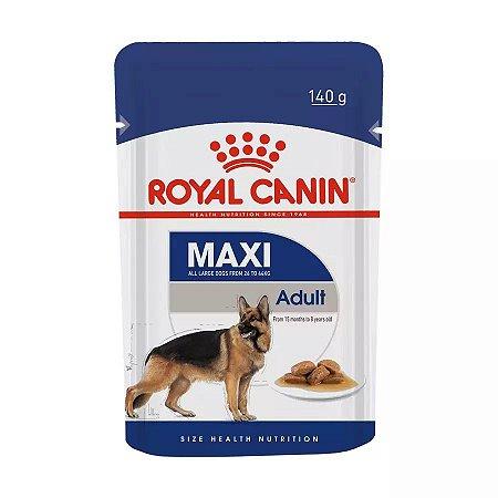 Ração Royal Canin Sachê para Cães Maxi Adultos de Grande Porte - 140g