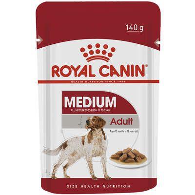 Ração Royal Canin Sachê Size Health Nutrition Puppy Wet para Cães Adultos Raças Médias - 140g