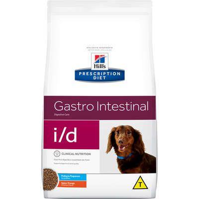 Ração Seca Hill's Prescription Diet i/d Pedaços Pequenos Cuidado Gastrointestinal para Cães Adultos - 7,5kgs