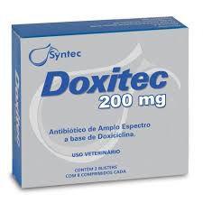 Doxitec Antibiotico Para Caes E Gatos