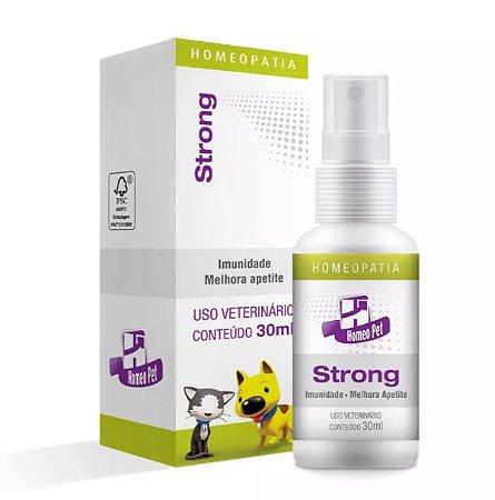 Homeopet Strong Sistema de Terapia para Cães e Gatos
