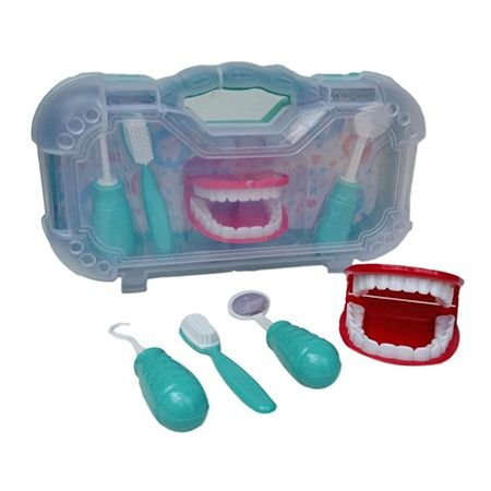 Maleta Kit Dentista Cuidando do Dentinho - Paki Toys