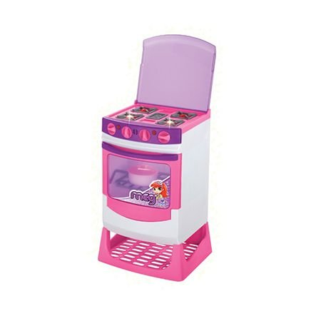 Fogão Infantil Master Chef Eletrônico Meg - Magic Toys
