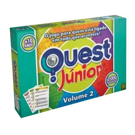 Jogo Quest Júnior Volume 2 - Grow