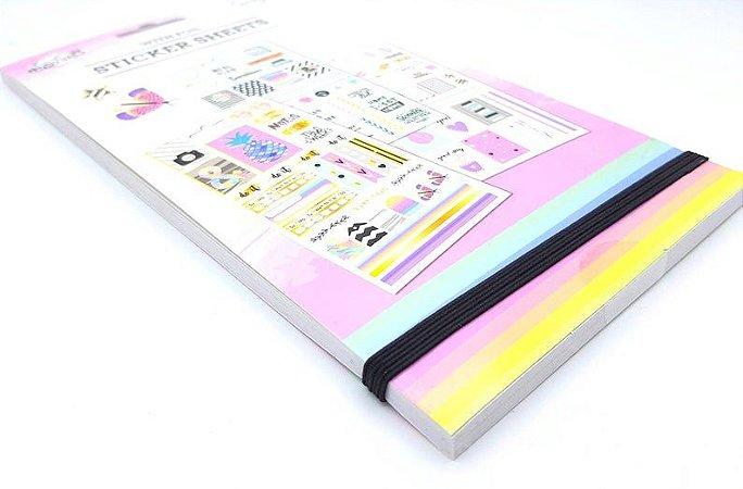 Sticker Book Grande Cute